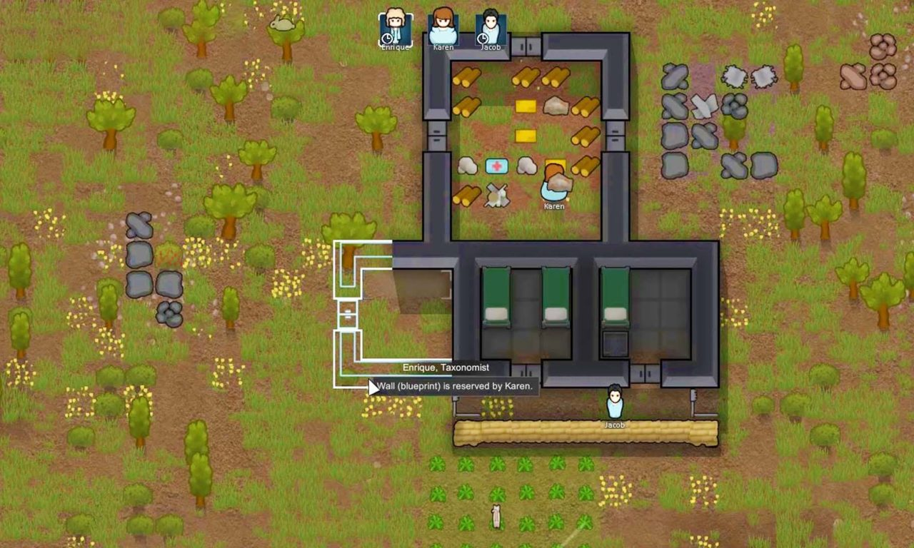 RIMWORLD (Early Access) - First Impressions Gameplay
