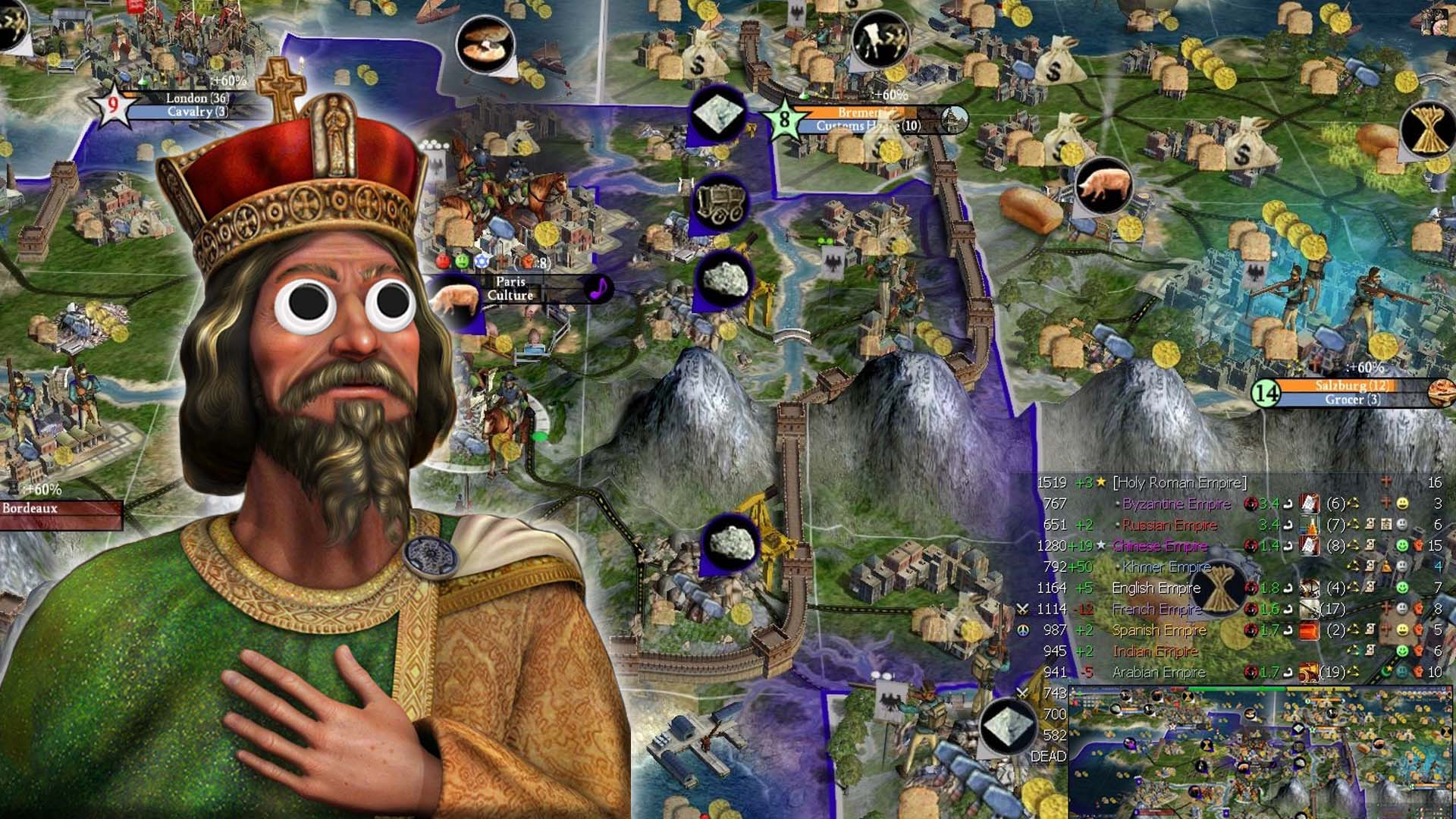The French Blitzkrieg Civilization 4 Part 11 Holy