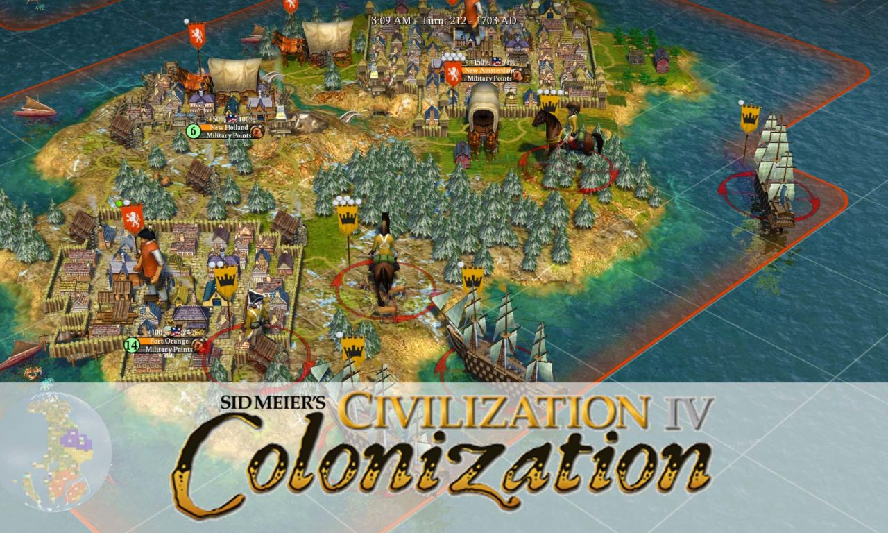 civilisation 4 colonization
